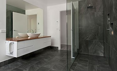 Tathra Bali Style Glass Bathroom South Coast Nsw Builders